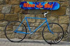 Rower miejski Retro single speed niebieski (4999713411) - Allegro.pl - Więcej niż aukcje.