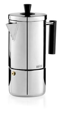 Geo Espresso from La Cafetiere #coffee #silver #metallics