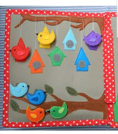 Bird house color sort