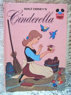 Cinderella book! (1974)Lenessa has read and read this book over and over...She loves this book