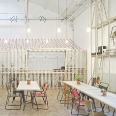 Royal College of Art Student Union Cafe  by Weston Surman