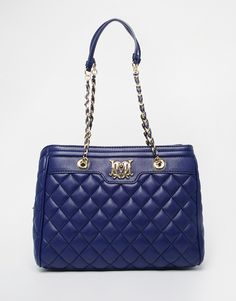 Image 1 ofLove Moschino Quilted Tote Bag