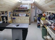 Turn your attic into a workshop