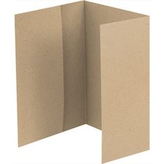 A7 Folder Enclosure - $12.50 for 10 - Trifold Invitation Enclosures - Paper Source