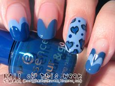 Blue hearts! I love these!