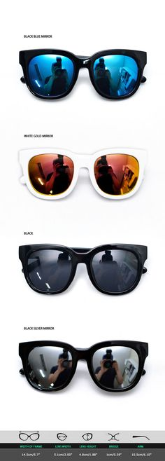 Mens Bold Frame Mirror Urban Teardrop Sunglasses By Guylook.com