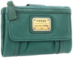 Wallets come and go, but Fossil's Emory will stay around forever thanks to its timeless appeal. Its pebbled leather fabrication sports clean-lined precision stitching and a cheeky logo plate. An outside flap pocket and zippered pocket keep your most-used essentials at the ready, while the interior is smartly equipped with a bill pocket, two receipt pockets, 14 card slots, a zippered coin pouch and an ID window...