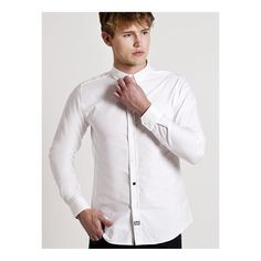 Weekend Offender Alver Long Sleeve Shirt - White