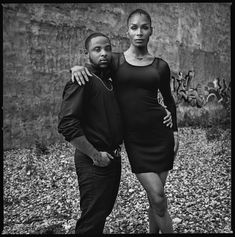 D'Jamel Young and Leiomy Maldonado for the series - The Trans Community of Christopher Street - Portraits from the neighborhood where the L.G.B.T. movement began - Photographs by Mark Seliger