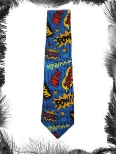 Batman superhero pow tie, geek, comic. £16.99 http://www.emeraldangel.co.uk/superhero-batman-tie.html