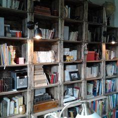 Une bibliothèque maison - Marie Claire Maison