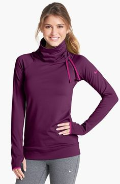 Nike 'Pro Hyperwarm' Training Top available at Athletic Outfits, Athletic Wear, Sport Outfits, Gym Outfits, Fitness Outfits, Fitness Gear, Workout Outfits, Sport Fashion, Look Fashion