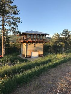 Lookout Tower, Tower Design, Survival, Tower House, Hot Springs, Renting A House, South Dakota, Cottage, Fire