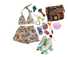 """suckin on my lollipops"" by psychedlia ❤ liked on Polyvore featuring Jamin Puech, Retrò, Madewell, Moxi, France Luxe, Summer, lanadelrey and beach"