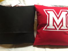 A personal favorite from my Etsy shop https://www.etsy.com/listing/448696572/oxford-ohio-university-tshirt-pillow