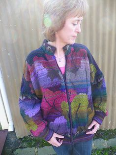 Ravelry: Tapestry Leaf Jacket pattern by Kaffe Fassett