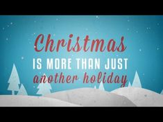 What Christmas Is About | Yancy  This is a great video that can be a teaching moment. It can also serve as a great transition piece from one segment to another. Help kids understand the real reason we celebrate Christmas!