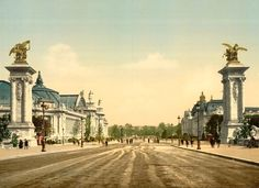 Grand and Petit Palais How the Paris World's Fair brought Art Nouveau to the Masses in 1900