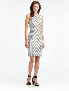 Milly Chevron Dress