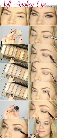 Soft Smokey Eye Tutorial