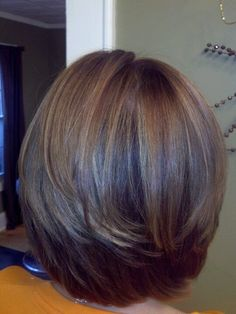 Attractive and Creative Hairstyles for Short Bob Hair - Page 4 of 4 - Fashion Medium Hair Cuts, Short Hair Cuts, Medium Hair Styles, Short Hair Styles, Bob Haircuts For Women, Short Bob Haircuts, Haircut Short, Haircut Medium, Haircut Bob
