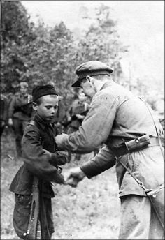 Child soldier in the Soviet Union, Military use of children .