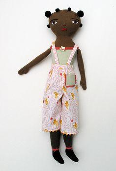 Beach Girl Doll by Mimi Kirchner