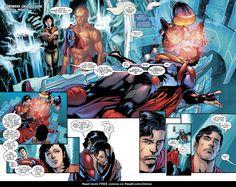 Comic Superman, Superman Lois, Batman, Jon Kent, Jonathan Kent, Dc Comics Characters, Fictional Characters, Comic Page, Young Justice