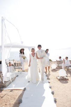 Beautiful Ibiza Wedding ceremony #weddingideas