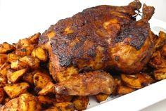 Portuguese Roast Chicken with Potatoes | Los Gatos Foodie