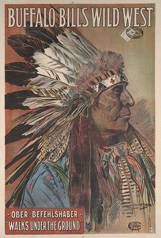 Walks Under Ground, Buffalo Bill poster