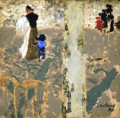 Nurse with a Child in a Sailor Suit / Edouard Vuillard