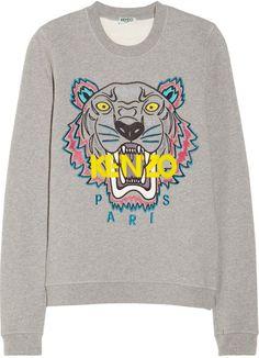 KENZO Tiger Sweatshirt Gray