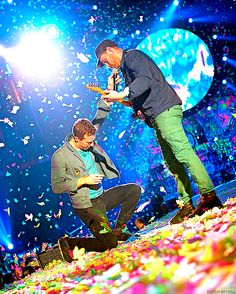 Coldplay. Their music gives me a feeling I can't describe. Love them! Someday, somewhere in the world I will see them live!!