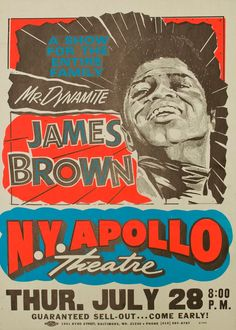 ☯☮ॐ American Hippie Classic Rock Music Poster ~ James Brown Old Posters, Vintage Concert Posters, Retro Posters, James Brown, Rock And Roll, Mundo Hippie, Rock Vintage, Logo Image, Norman Rockwell