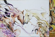 """""""Fated to Love You""""  Watercolour by jongkie"""