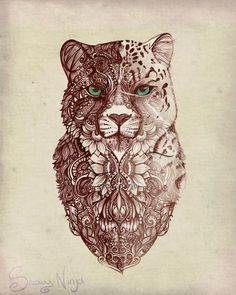 Image result for cheetah tattoo