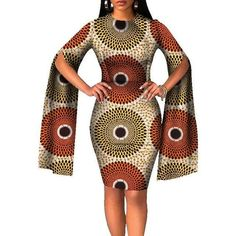 African dress / Ankara dress / African clothing / African vdress / African wedding dress / African m African Wedding Dress, African Fashion Ankara, Latest African Fashion Dresses, African Dresses For Women, African Print Dresses, African Print Fashion, Africa Fashion, African Dress Styles, Modern African Fashion