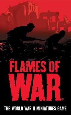 Flames of War 15mm WWII wargame.