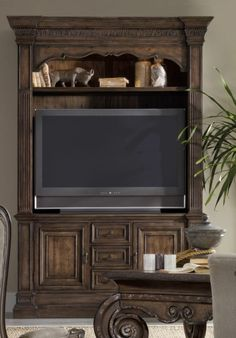 Home Gallery Furniture For Hooker Furniture Rhapsody, Rhapsody Entertainment  Console With Hutch
