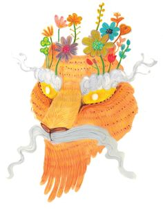 Save the Tiger (2014) Korean folktale book Designed and illustrated by Eli HS Han Mixed Media http://elihshan.com
