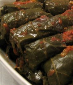 Ekşili, Etli Pazı Dolması - bizkadiniz.com Appetizers, Yummy Food, Vegetables, Ethnic Recipes, French, Kitchens, Delicious Food, French People, Vegetable Recipes
