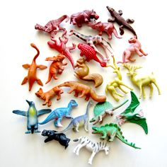 Any kind of plastic animal toys