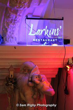 Larkins Restaurant, St Helens at Christmas
