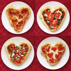 How To Make Homemade Heart Shaped Pizza For Valentines Day | Cute Date Night Ideas For Him By DIY Ready. http://diyready.com/romantic-valentine-dinner-ideas-for-two/