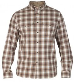 Features of the Fjallraven Men's SArek Long Sleeve Shirt Classic button down check shirt in functional fabric blend Roll up sleeve function Armpit gusset Pleated back 2 chest pockets with buttons Roll Up Sleeves, Shirt Sleeves, Long Sleeve Shirts, Check Shirt, Button Down Shirt, Men Casual, Fabric, Mens Tops, Fashion