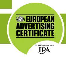 European Advertising Certificate Logo