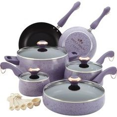 15-Piece Enameled Cookware Set