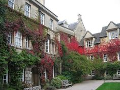 Lincoln College, Oxford....miss it