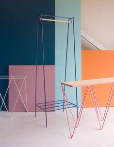 :: The steel 'A' clothes rail ::